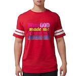 God Showing Off Mens Football Shirt