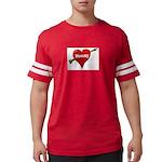 mommy Mens Football Shirt