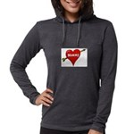 mommy Womens Hooded Shirt