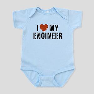 I Love My Engineer Infant Bodysuit