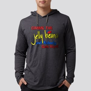 Gimme The Jelly Beans Mens Hooded Shirt