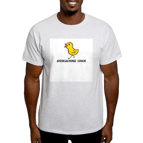 Geocaching Chick Light T-Shirt