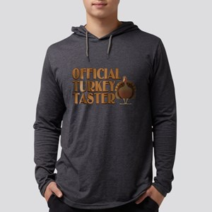 fficial Turkey Taster Mens Hooded Shirt
