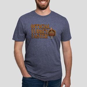 fficial Turkey Taster Mens Tri-blend T-Shirt