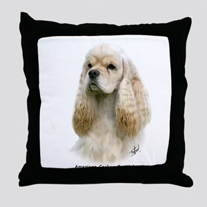 American Cocker Spaniel 9Y244D-035 Throw Pillow