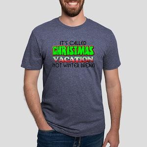 Christmas Vacation! Mens Tri-blend T-Shirt