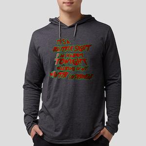 WINTERUNDERWEAR Mens Hooded Shirt