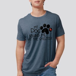 Found Me At The Shelter Mens Tri-blend T-Shirt