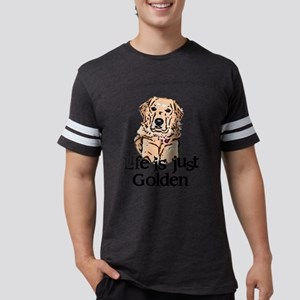golden Mens Football Shirt