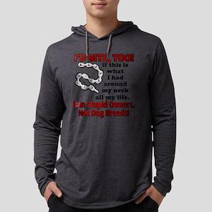 id bite, too2 Mens Hooded Shirt