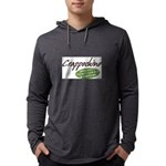 Crappochino Mens Hooded Shirt