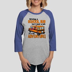 Driving a School Bus Womens Baseball Tee