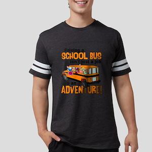 Driving a School Bus Mens Football Shirt