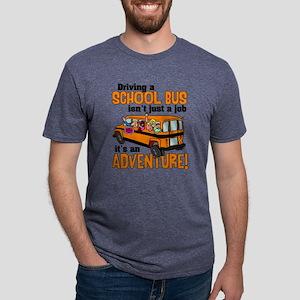 Driving a School Bus Mens Tri-blend T-Shirt