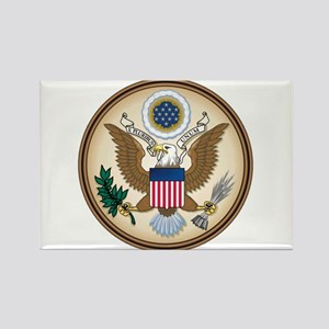 Presidents Seal Rectangle Magnet