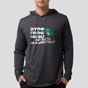 frog Mens Hooded Shirt