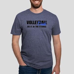 VOLLEYBALLdads2 Mens Tri-blend T-Shirt