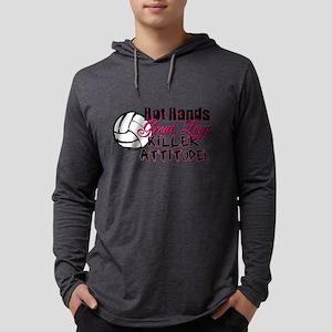 hothands2 Mens Hooded Shirt