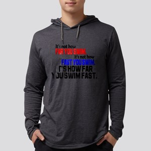 Swim Fast Mens Hooded Shirt
