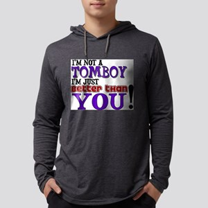 TOMBOY Mens Hooded Shirt