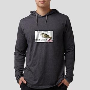 fish Mens Hooded Shirt