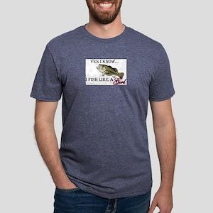 fish Mens Tri-blend T-Shirt