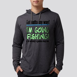 get outta my way Mens Hooded Shirt