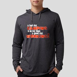 campclock Mens Hooded Shirt