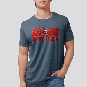 Zombie Appetizer Mens Tri-blend T-Shirt