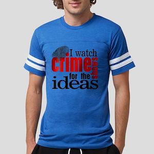 Crime Show Ideas Mens Football Shirt