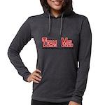 Team Mel Womens Hooded Shirt