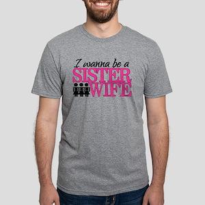 sister wife Mens Tri-blend T-Shirt