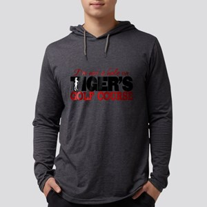 Tiger's Golf Course Mens Hooded Shirt