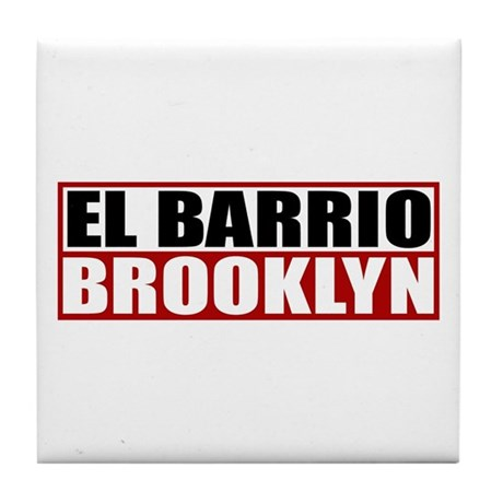 """Brooklyn items"" Tile Coaster"