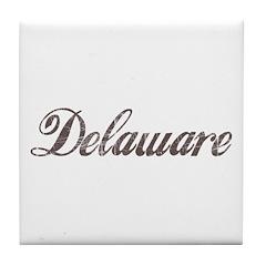 Delaware Tile Coaster