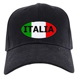 Italian Baseball Cap with Patch
