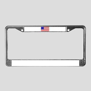 United States (1777) License Plate Frame