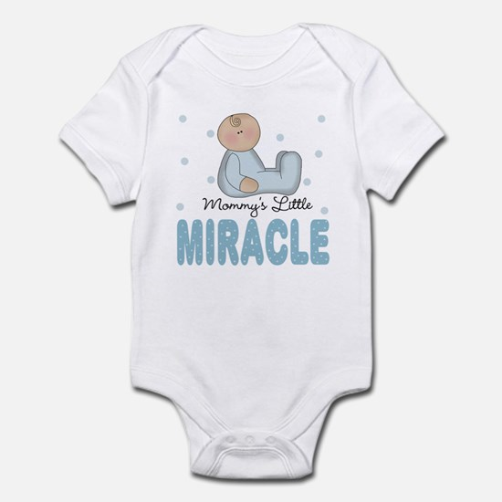 Mommy's Little Miracle Baby Boy Infant Bodysuit