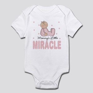Mommy's Little Miracle Girl Baby Infant Bodysuit