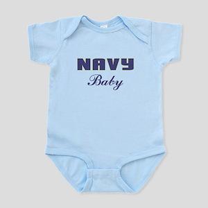 Navy Baby Infant Bodysuit