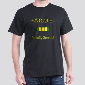 Proudly Served: Army Dark T-Shirt