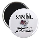Save a Fish Magnet