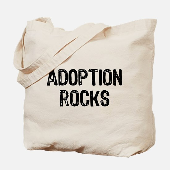 Adoption Rocks Tote Bag