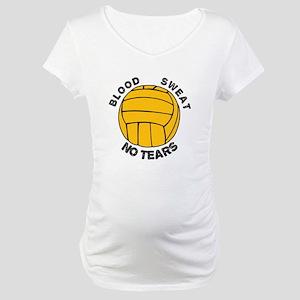 blood sweat & no tears Maternity T-Shirt