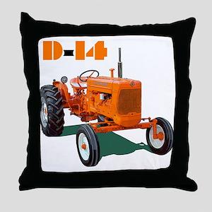 The Model D-14 Throw Pillow