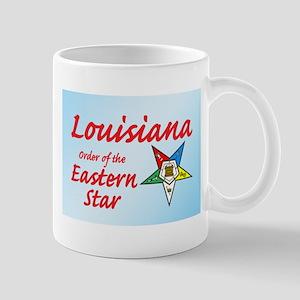 Louisiana Eastern Star Mug