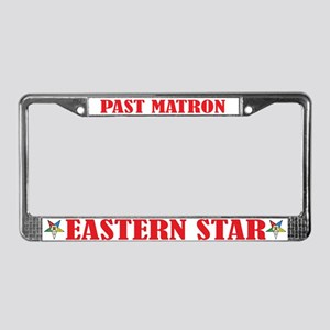 Past Matron License Plate Frame
