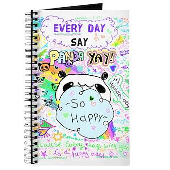 Anime Panda Doodles Journal