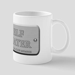 Brushed Steel - Elf Hater Mug