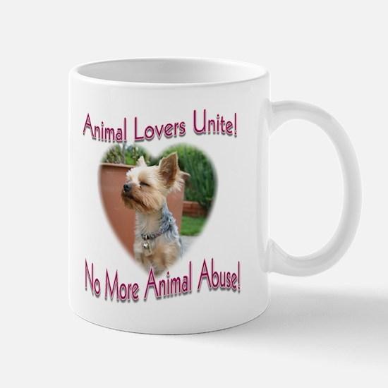 Animal Lovers Unite! Mug (2-sided)